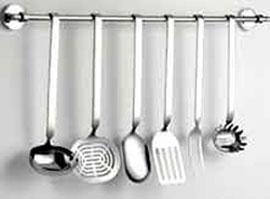 Set mestoli set mestoli acciaio for Set mestoli cucina