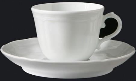 Piatto Doccia Richard Ginori.Servizio Caffe 15 Pz Antico Doccia