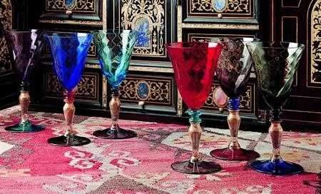 Set 6 bicchieri colorati set 6 bicchieri colorati sandra for Bicchieri colorati