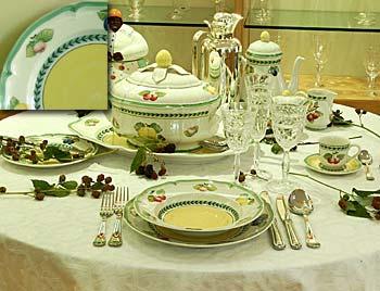 Servizio piatti 39 pz french garden for Villeroy e boch bicchieri
